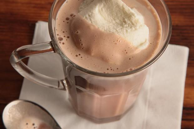 Tipsy Hazelnut Hot Chocolate | JohnCook3.com/Food
