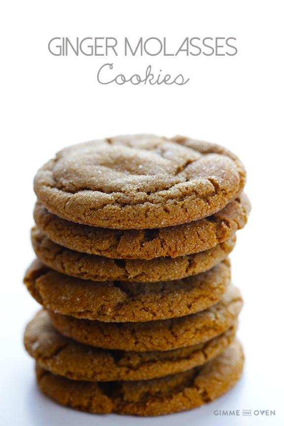 ... make, and creates the softest chewiest ginger molasses cookies ever
